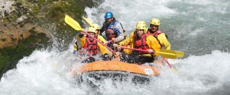 rafting lao river