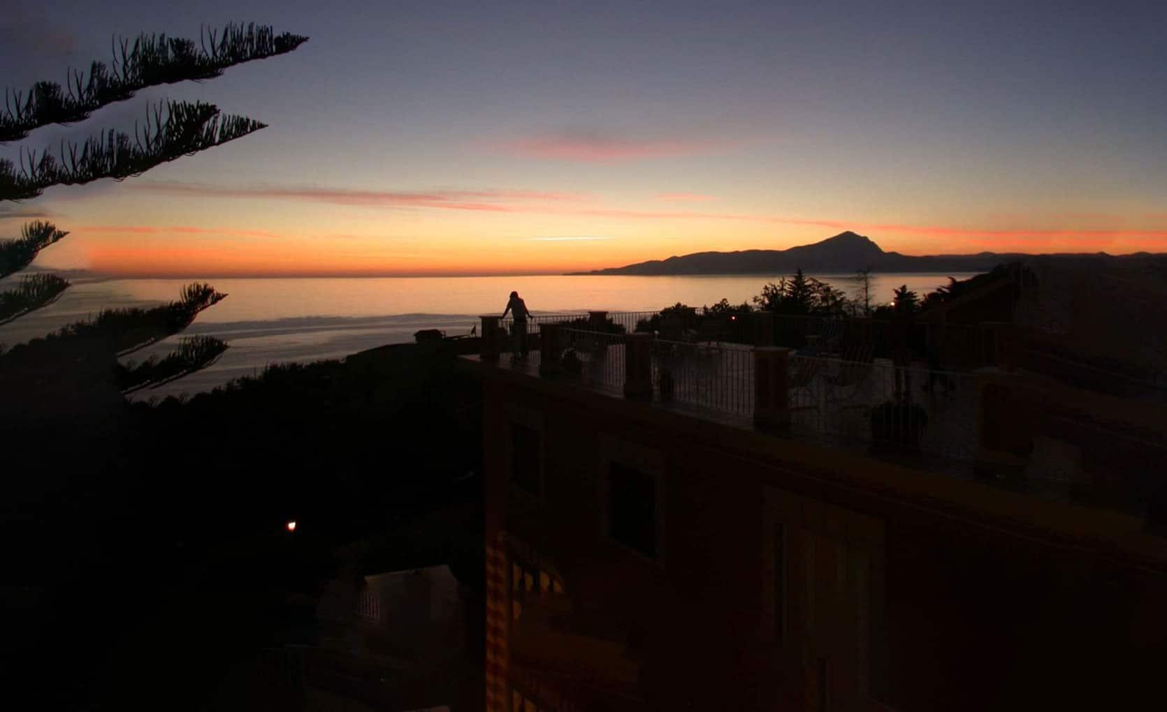 sunset aperitif high