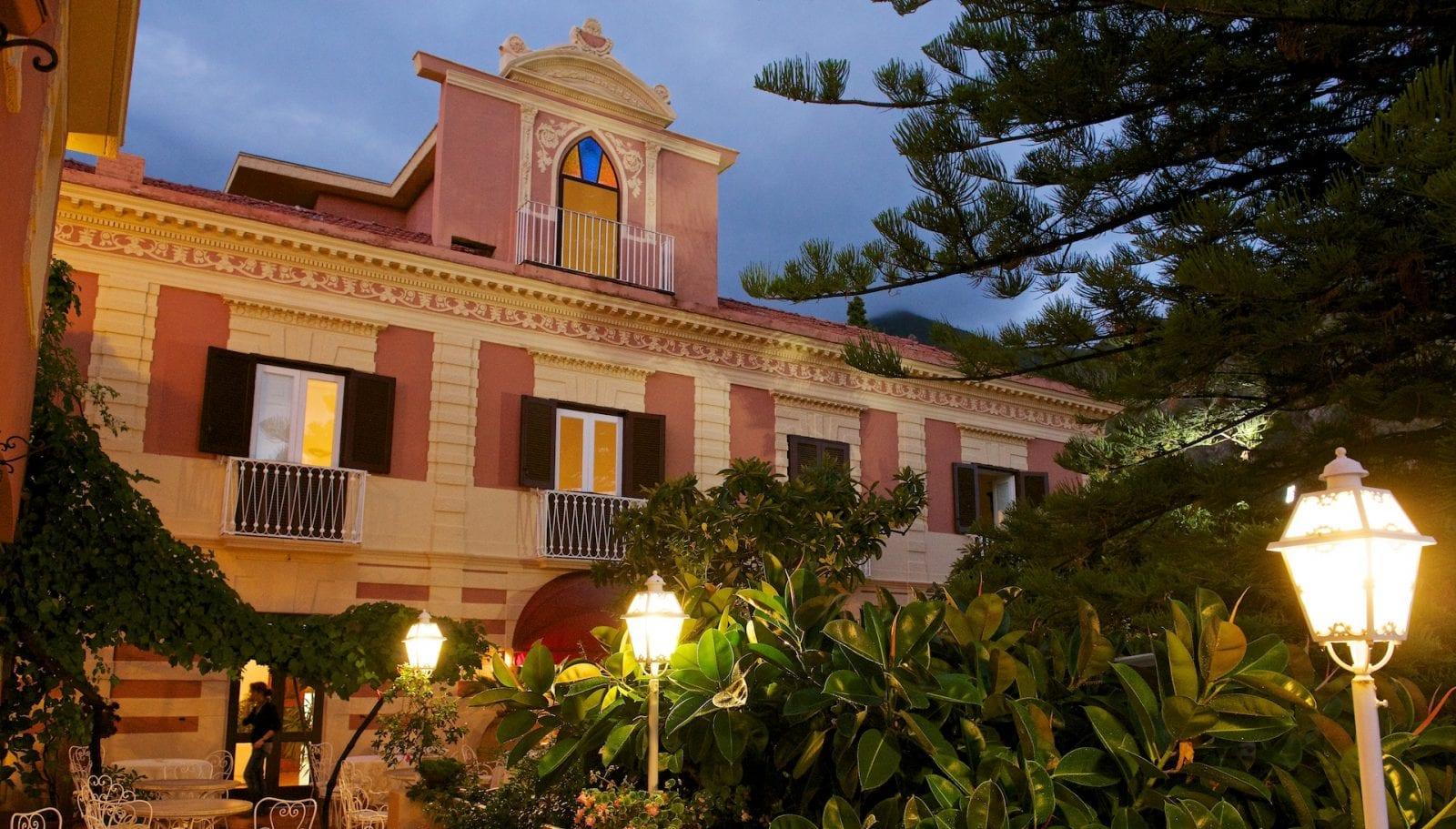 Le immagini del Villa Cheta di Maratea