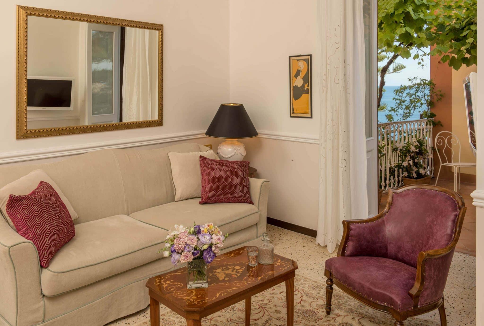 Camera del Maratea Hotel Villa Cheta