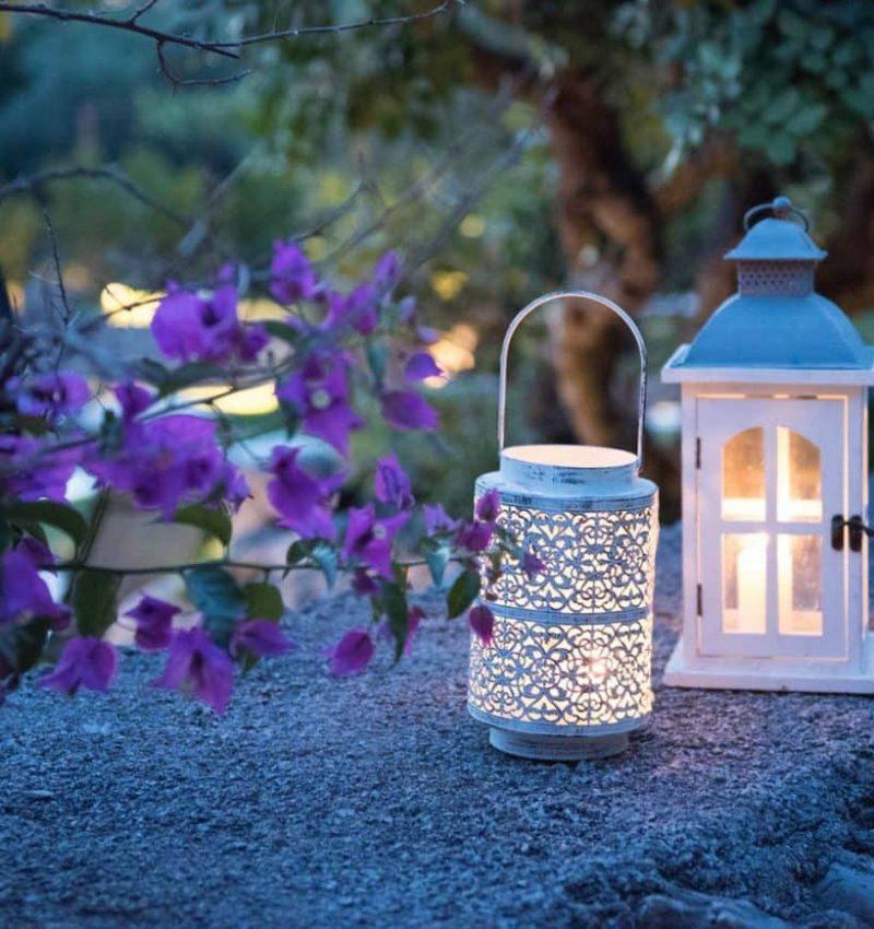 lanterne per un aperitivo in piscina