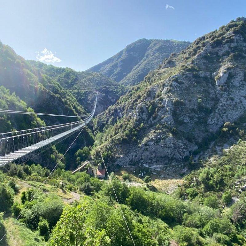 Il Ponte tibetano più lungo del mondo